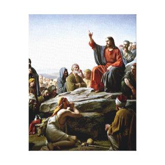 Bergpredigt - Malerei Karls Bloch Leinwanddruck
