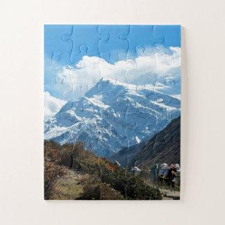 Bergsteigen Nepals Himalaja Indien