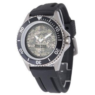 Bergsteiger-Digital-Tarnung personifizieren dieses Uhr