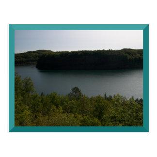 Bergwerk-Grube in Virginia, Mangan-Postkarte Postkarte