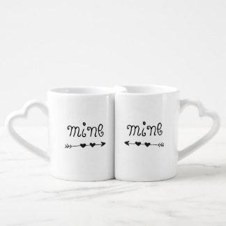Bergwerk-Pfeil-Kaffee-Tassen-Set Liebestassen