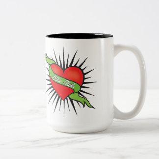 Bergwerk tickt Kaffee-Tasse Zweifarbige Tasse