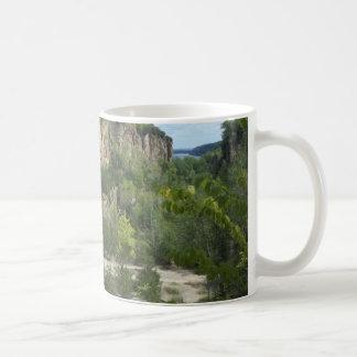 Bergwerke von Spanien-Landschaft Kaffeetasse