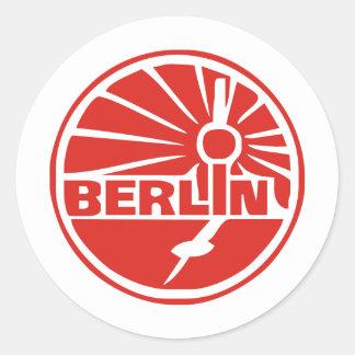 Berlin Deutschland Runder Aufkleber