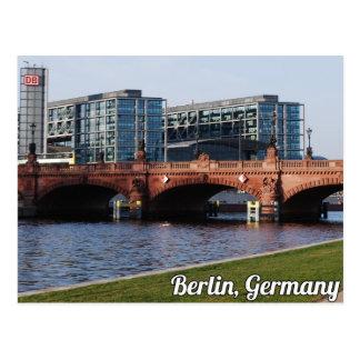 Berlin Deutschland - sonniger Frühlings-Tag Postkarte