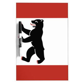 Berlin-Flagge Trockenlöschtafel