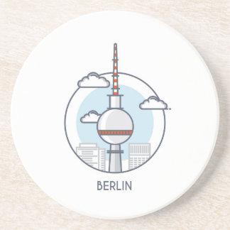 Berlin Getränkeuntersetzer