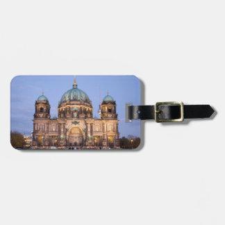Berlin-Kathedrale Gepäckanhänger