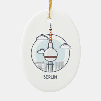 Berlin Keramik Ornament