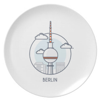 Berlin Melaminteller