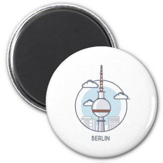 Berlin Runder Magnet 5,1 Cm