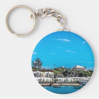 Bermuda-Ansicht Schlüsselanhänger