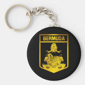 Bermuda-Emblem Schlüsselanhänger