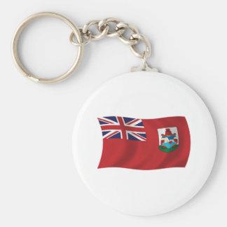 Bermuda-Flagge Keychain Schlüsselanhänger