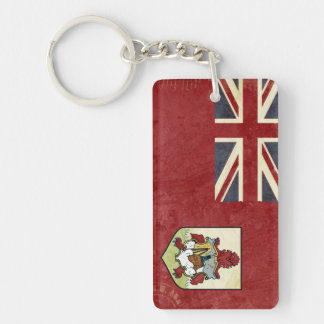 Bermuda-Flaggen-Schlüsselketten-Andenken Schlüsselanhänger