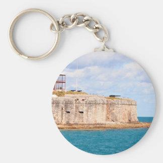 Bermuda-Fort keychain Schlüsselanhänger