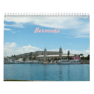 Bermuda-Foto-Kalender Abreißkalender