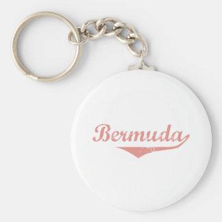Bermuda-Revolutions-Art Schlüsselanhänger