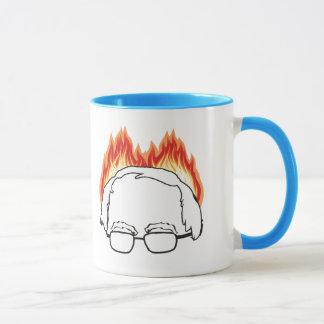 Bern auf Feuer - Bernie-Sandpapierschleifmaschinen Tasse