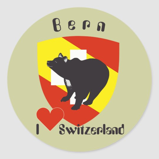 Bern Berne Berna Bärn Schweiz Suisse Aufkleber