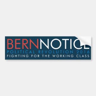 Bern-Mitteilungs-politische Revolution 2016 Autoaufkleber