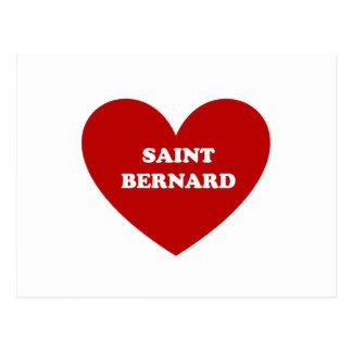 Bernhardiner Postkarte