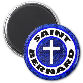 Bernhardiner Runder Magnet 5,7 Cm