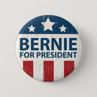 Bernie 2016 runder button 5,7 cm