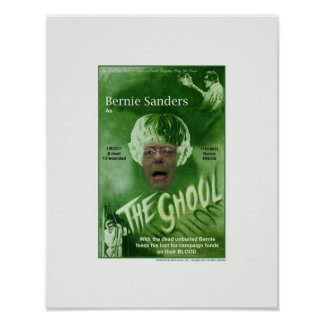 Bernie das Ghoul-Plakat Poster