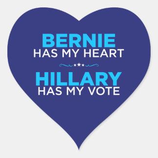 Bernie hat mein Herz, Hillary hat meinen