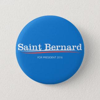 """Bernie-Sandpapierschleifmaschine-""""Bernhardiner"""" Runder Button 5,1 Cm"""