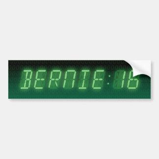 Bernie-Sandpapierschleifmaschine-Digital-Auslesen Autoaufkleber