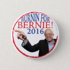 Bernie-Sandpapierschleifmaschine-Kampagnen-Knopf Runder Button 5,1 Cm