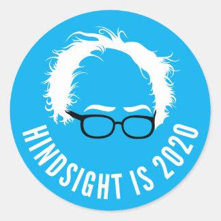 Bernie-Sandpapierschleifmaschine-Nachsicht ist Runder Aufkleber
