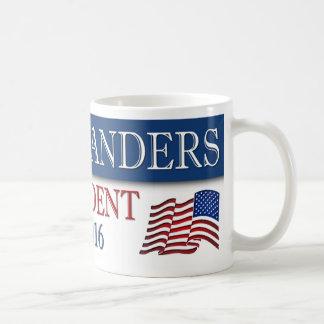 Bernie-Sandpapierschleifmaschine-Präsident 2016 Kaffeetasse