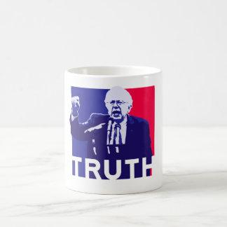 Bernie-Sandpapierschleifmaschine-Rede der Kaffeetasse