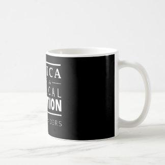 Bernie-Sandpapierschleifmaschine-Revolution Kaffeetasse