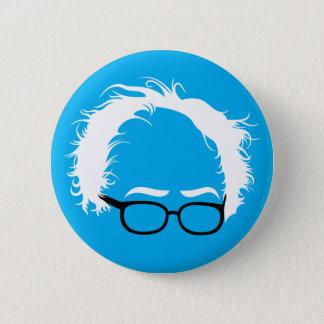Bernie-Sandpapierschleifmaschine-wilder Haar-Knopf Runder Button 5,7 Cm