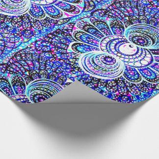 Bernsteinfarbiges Entwurfs-Geschenk-Packpapier Einpackpapier