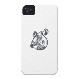 Berserker anhebender Barbell Kettlebell Kreis iPhone 4 Etuis