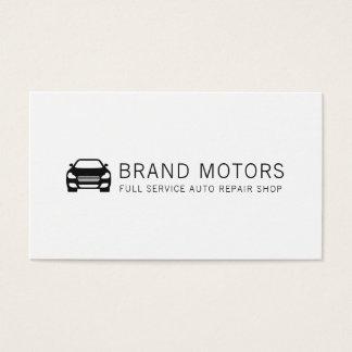 Berufliche AutomobilAuto-Reparatur Visitenkarte