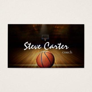 Berufliche Basketball-Trainer-Spieler-Sport-Karte Visitenkarte