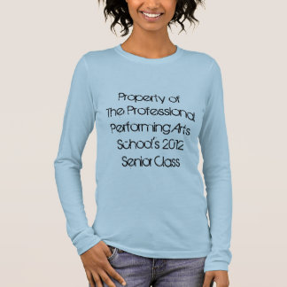 Berufliche darstellende Kunstakademie - Senior Langarm T-Shirt