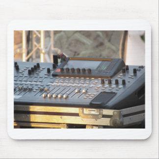 Berufliche mischende Audiokonsole Mousepad
