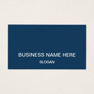 Berufliche unbedeutende Firmengeschäftskarten Visitenkarte