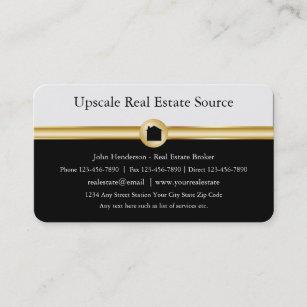 Berufliche Visitenkarten für Real Anwesen Visitenkarte