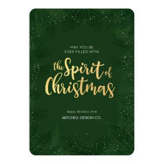 Berufliche Weihnachtskarte Karte
