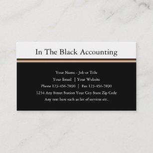 Berufliche Wirtschaftsprüfer CPA Visitenkarte