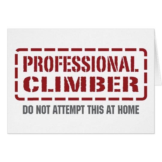 Beruflicher Bergsteiger Karte