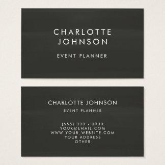 Beruflicher Ereignis-Planer-Tafel-Minimalist Visitenkarte